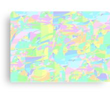 PASTEL PATTERN Canvas Print