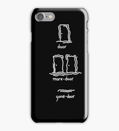 One Door to Rule Them All iPhone Case/Skin