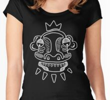 White Mask Women's Fitted Scoop T-Shirt