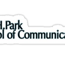 Roy H.Park School of Communications- Ithaca College Sticker