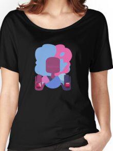 Garnet - Cotton Candy Simple Women's Relaxed Fit T-Shirt