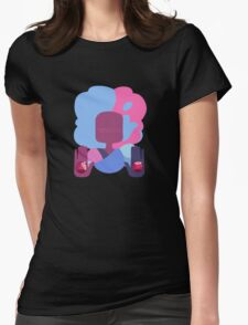Garnet - Cotton Candy Simple Womens Fitted T-Shirt