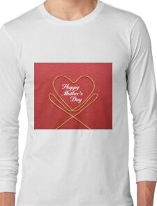 Crafty Yarn and Fabric Happy Mother's Day Long Sleeve T-Shirt