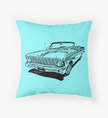 '64 Falcon Convertible Throw Pillow