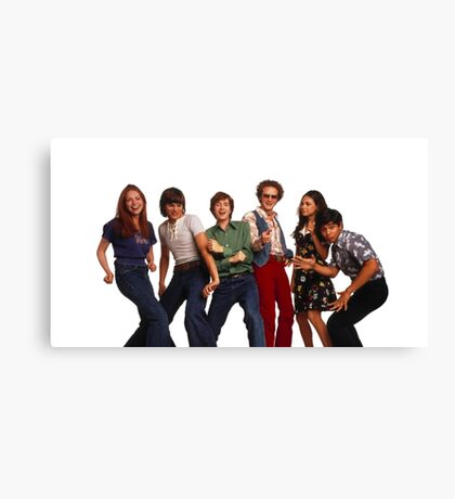 That '70s Show Gang Canvas Print