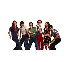 That '70s Show Gang Photographic Print