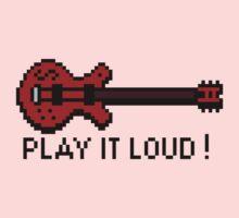Guitar - Play It Loud Kids Tee