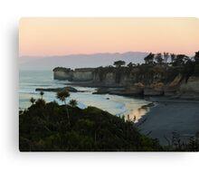 Cape Foulwind, Westport, New Zealand Canvas Print