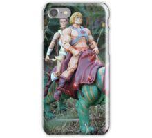 Masters of the Universe Classics - He-Man, Teela & Battle Cat iPhone Case/Skin