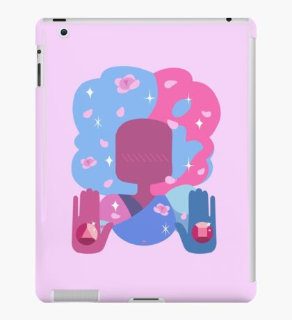 Garnet - Cotton Candy Pastel iPad Case/Skin