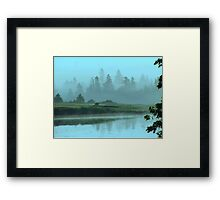 Turquoise Tranquillity Framed Print