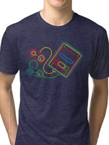 Super Famicom Tri-blend T-Shirt