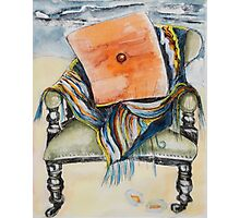 Beach Chair by Judy Brown Photographic Print