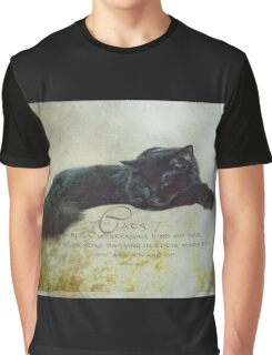 Cats are a mysterious kind of folk Graphic T-Shirt