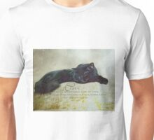 Cats are a mysterious kind of folk Unisex T-Shirt