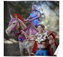 Masters of the Universe Classics - Bow, Arrow & Glimmer Poster