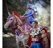 Masters of the Universe Classics - Bow, Arrow & Glimmer Photographic Print