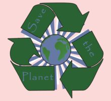 Save the Planet - Recycle One Piece - Short Sleeve