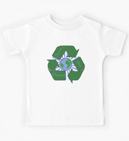 Save the Planet - Recycle Kids Tee