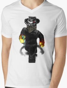 Plague Doctor Blox Mens V-Neck T-Shirt