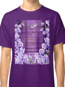 Waltz Of The Flowers In Purple Classic T-Shirt