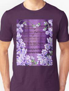 Waltz Of The Flowers In Purple T-Shirt