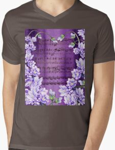 Waltz Of The Flowers In Purple Mens V-Neck T-Shirt