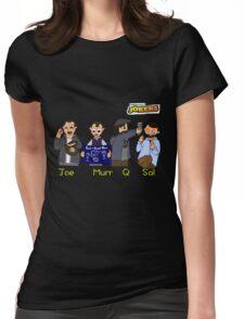 Cartoon Impractical Jokers Womens Fitted T-Shirt