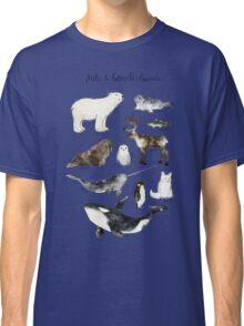 Arctic & Antarctic Animals Classic T-Shirt