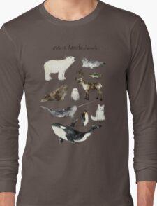 Arctic & Antarctic Animals Long Sleeve T-Shirt