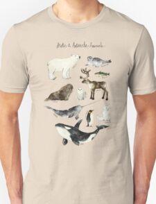 Arctic & Antarctic Animals Unisex T-Shirt