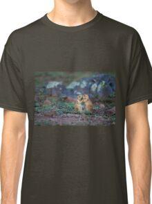 Cute Black-tailed Prairie Dogs at Wichita Mountains NWR Classic T-Shirt