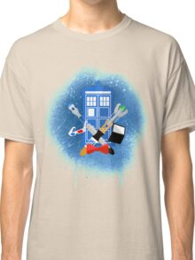 DOCTOR WHO - SPRAY PAINT DESIGN Classic T-Shirt