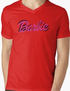 Barbie Mens V-Neck T-Shirt