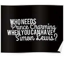 Prince Charming - Simon Lewis Poster