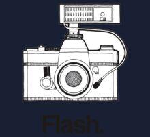 Camera Flash Kids Tee