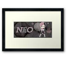 Chibi Neo Framed Print