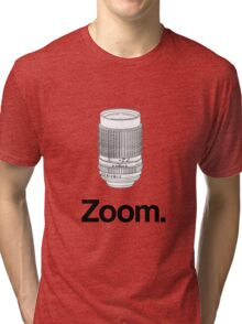 Zoom lens Tri-blend T-Shirt