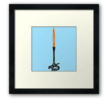 Bunsen Burner Framed Print