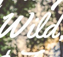B.A.P Young, Wild, & Free Sticker