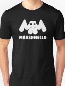 Marshmello | Logo | White | With Text Unisex T-Shirt