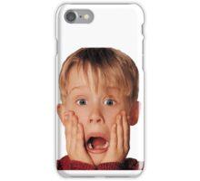 Macauly Culkin From Home Alone iPhone Case/Skin