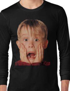 Macauly Culkin From Home Alone Long Sleeve T-Shirt