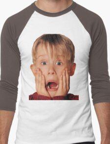 Macauly Culkin From Home Alone Men's Baseball ¾ T-Shirt
