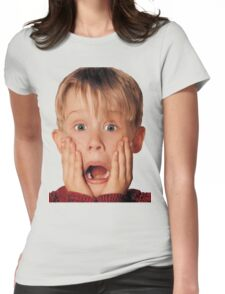 Macauly Culkin From Home Alone Womens Fitted T-Shirt