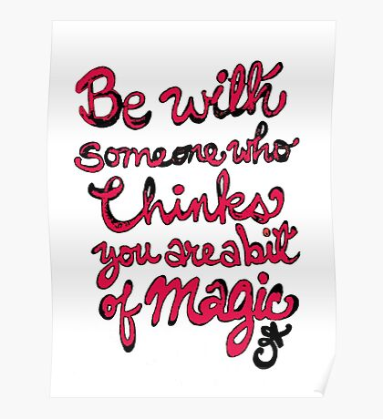 Be With Someone Hearty! Be With Someone's Heart Poster