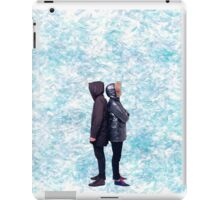 Dan & Phil   Blue petals iPad Case/Skin