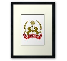 Knight Fellowship Framed Print