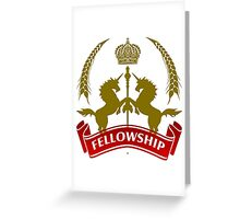 Knight Fellowship Greeting Card