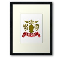 Knight Patriot Framed Print